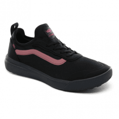 Vans UltraRange AC Textile Trainers - Black/Rose