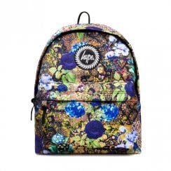 Hype Persian Dream Black Multi Floral 18L Backpack