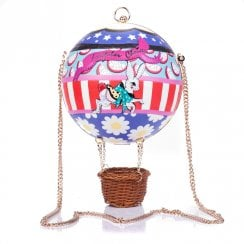 Irregular Choice Up Up & Away Bag - Multi Pink Purple