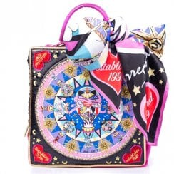Irregular Choice Limited Edition Bon Anniversaire Bag - Black Multi Purple Red