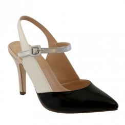 Barino Black Nude Occasion High Heeled Court Shoes - 482