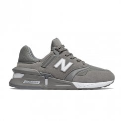 New Balance Mens Grey Sport Style Sneakers