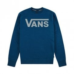 Vans Mens Classic Blue II Crewneck Sweater