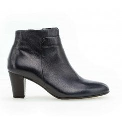 Gabor Matlock Womens Ankle Boots - Navy