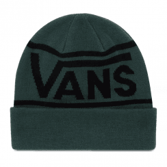 Vans Green Drop V Stripe Cuff Beanie Hat