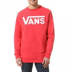 Vans Mens Hibiscus Classic Crew II Long Sleeve Sweater