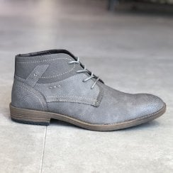 Gordon Jack Mens Brazil Slate Grey Lace Up Boots