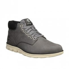 Timberland Mens Bradstreet Leather Chukka Grey Boots