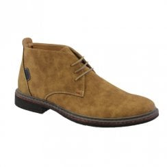 Goor Tan Suede Mens 187 Laced Casual Desert Boots