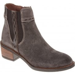 Alpe 4391 Brown Suede Ankle Boot