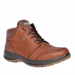 Grisport Lomond Mens Tan Leather Mid Comfort Laced Boot