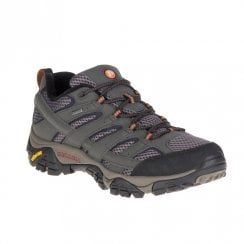 Merrell Mens Moab 2 GORE -TEX Wide Width Hiking Trainers - Grey