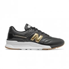 New Balance Women's Classics 997H Sneakers - Black Gold
