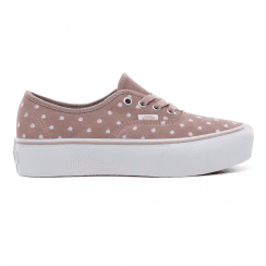 Vans Womens Authentic Platform Sneakers - Blush