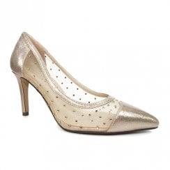 Lunar Womens Cleopatra Rose Elegance Court Shoes