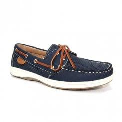 Lunar Womens Macy Navy Boat Shoes