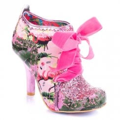Irregular Choice Abigails 3rd Party - Flamingo
