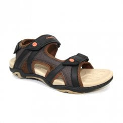 Goodyear Mens Santiago Brown Sport Sandals - JMG007