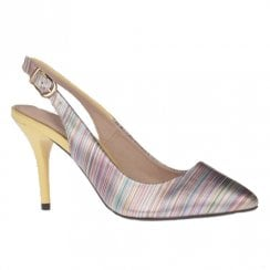 Kate Appleby Mathers Multi Mash High Heeled Slingback Pointed Shoe