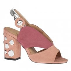 Kate Appleby Camelot Pink High Heeled Slingback Sandals