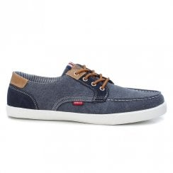 XTI Mens Denim Boat Shoe