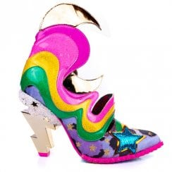 Irregular Choice Galactic Thunder Pink Multi