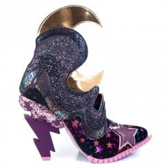 Irregular Choice Galactic Thunder Black