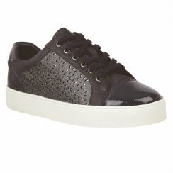 Lotus Cologne Navy Womens Lace Up Sneakers