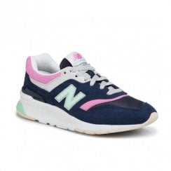 New Balance Women's Retro Style CW997HAO Sneakers - Navy/Pink