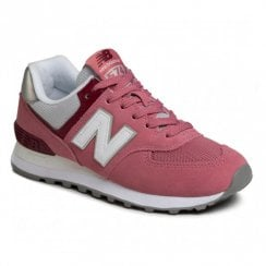 New Balance Women's Retro Style WL574SOR Sneakers - Dark Pink Rose