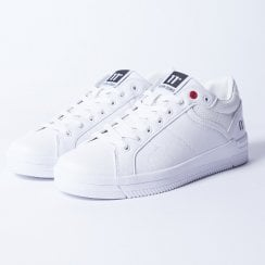 11 Degrees White Leather Sneakers - Venice