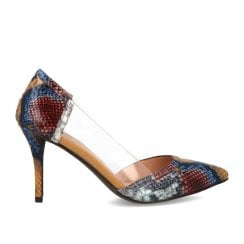 Menbur Perspex Sided Reptile Court Shoe