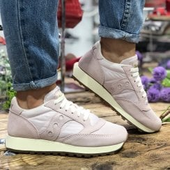 Saucony Womens Blush Sneakers - Jazz Original Vintage