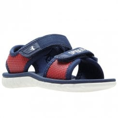 Clarks Surfing Web Boys First Sandals