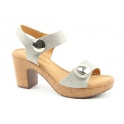 Heavenly Feet Sadie Block Heel Sandal