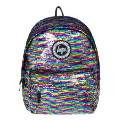 Hype Rainbow Reversible Sequin Backpack