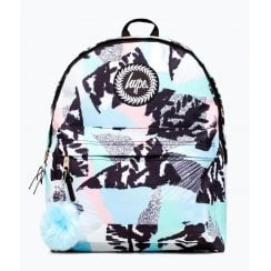 Hype Pastel Abstract Backpack  backpack 18 litres