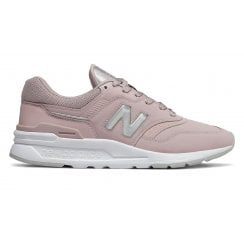 New Balance Womens 997 Lifestyle Sneakers - Pink
