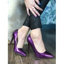 Kate Appleby Alford Stiletto's - Damson Purple