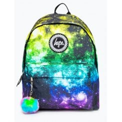 Hype Rainbow Space Backpack 18 litres