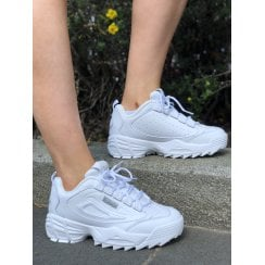 Fila Disruptor 3 Trainers In White