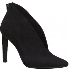 Marco Tozzi V Front Bootie - Black