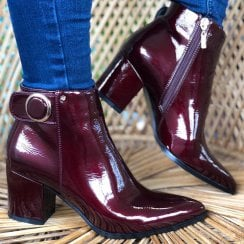 Kate Appleby Ladies Spilsby Damson Ankle Boots