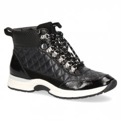 Caprice Quilted High Top Trainer Boot