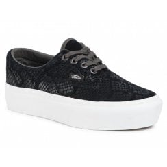 Vans Ladies Animal Era Platform Black Trainers