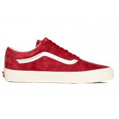 Vans Mens Old Skool Pig Suede Chilli Trainers