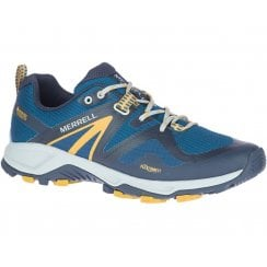 Merrell Mens MQM FLEX 2 GTX SAILOR Blue Waterproof Trainers - J033703