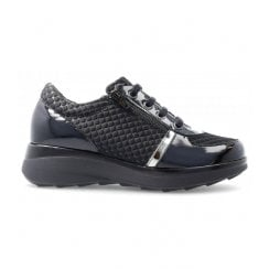 Pitillos Wedge Lace Up Trainer
