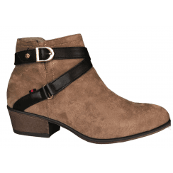 Escape Ladies Plano Two Brown Boots