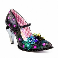 Irregular Choice Crystal Pips -Multi Pink
